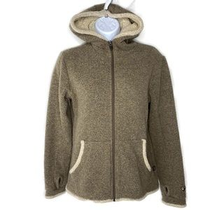 KUHL Alfpaca Fleece Hooded ZIP Up Jacket